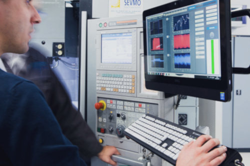 machining monitoring on the MITISlab with the Witis acquisition and analysis software