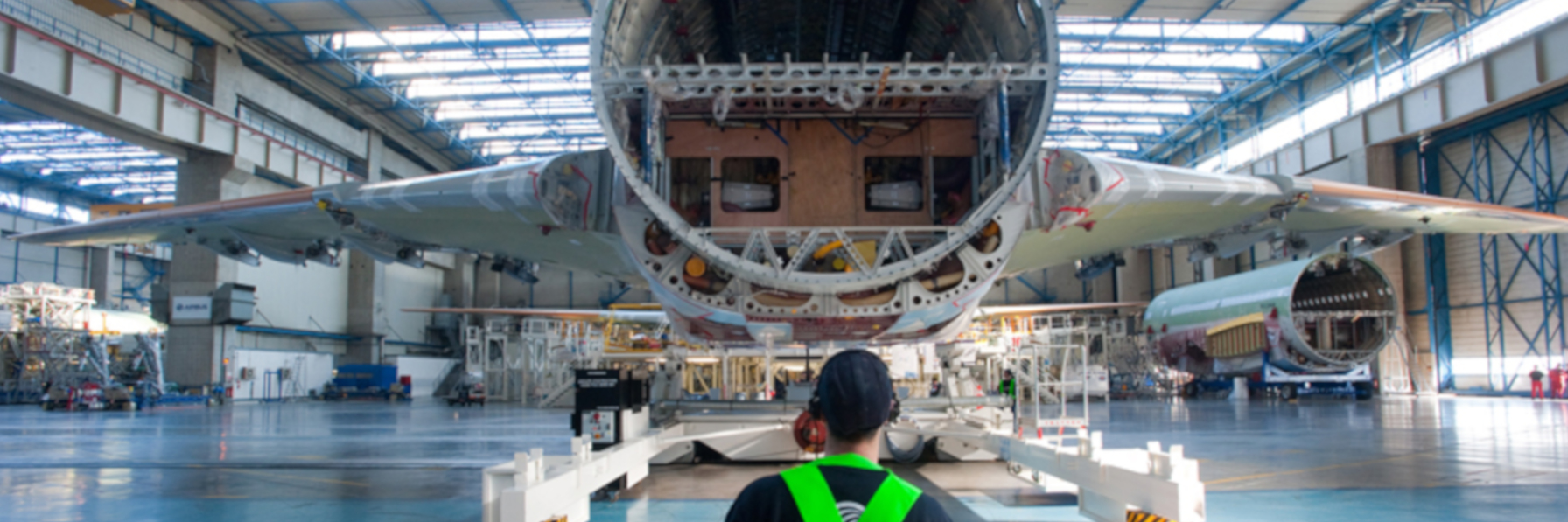 AIRBUS frame assembly manufacturing