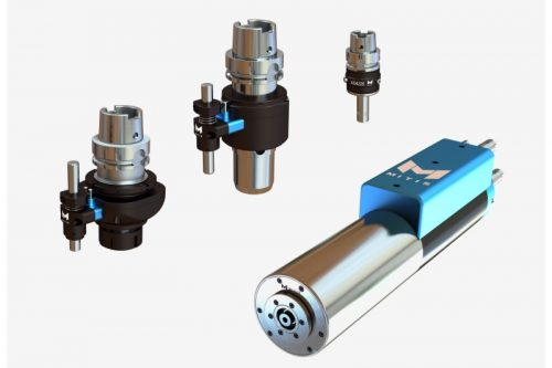 spindle and tool-holders for vibratory drilling